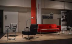 Gispen Classic & Today with furniture design of W.H. Gispen & Gebroeders van der Stroom