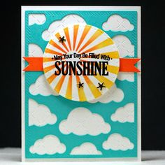 Embellish My World: MFT Wednesday Sketch Challenge #222 | may your days be filled with sunshine
