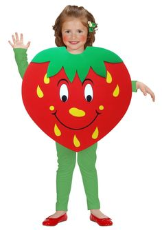 Widok pysznych, słodkich truskawek wywołuje uśmiech na twarzy niejednego dziecka. Jeżeli dodatkowo zapewnicie mu strój jego ulubionego owocu, z pewnością radości nie będzie końca. Ciekawy, charakterystyczny i rzucający się w oczy kostium karnawałowy doskonale sprawdzi się podczas niejednej, przebieranej zabawy dla najmłodszych. ...