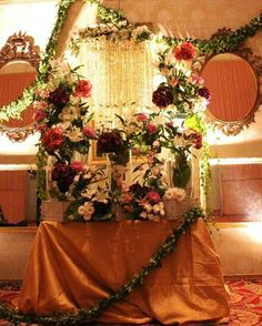Pakistani wedding Pakistani Wedding Decor, Wedding Decorations, Table Decorations, Where The Heart Is, Wreaths, Furniture, Home Decor, Decoration Home, Door Wreaths