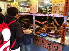 本当に美味しい立ち食い焼鳥を食べたいならココですね / 鳥勇 駅前店