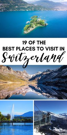 Looking for the most beautiful places in Switzerland? Here are 19 must-see, amazing places in Switzerland to add to your Switzerland itinerary. #switzerland #traveldestinations #europe #travelguide #travel Switzerland Itinerary, Places In Switzerland, Klagenfurt, Cool Places To Visit, Places To Travel, Travel Destinations, Time Travel, Europe Travel Guide, Travel Guides