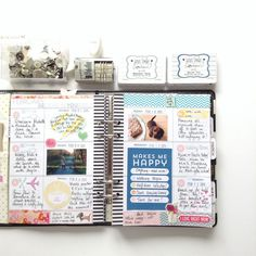 More February planner pages by cannycrafter at @studio_calico