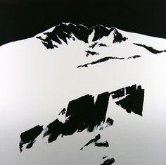 Per Kleiva Vinternatt (8161/53224) Mountain Art, Mountain Landscape, Personal Project Ideas, Painting Collage, Great Artists, Printmaking, Landscape Paintings, Modern Art, Pop Art