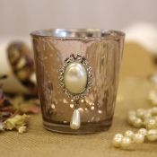 Antique Gold Votive