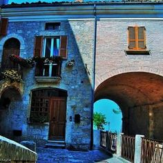 One of many Abruzzo's villages