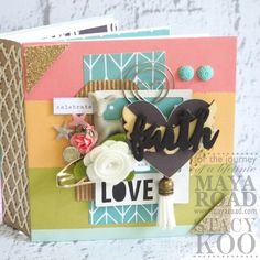 Check out the latest Maya Road projects, designs, contest and more. Scrapbook Albums, Scrapbooking, Faith In Love, Simple Stories, All Paper, Mini Books, Paper Design, Maya, Whimsical