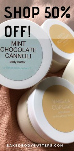 SHOP off our collection of Dessert-Scented Body Butters & Soaps! Diy Spa Day, Spa Day At Home, Dessert Boxes, Bath Recipes, Bath Soap, Vanilla Cupcakes, Mint Chocolate, Body Products, Body Butter