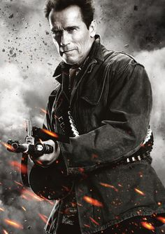 The Expendables 3 Arnold Schwarzenegger as Trench Mauser