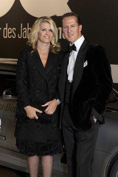 Tras haber salido del coma, Michael Schumacher reacciona a la voz de su esposa, Corinna