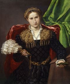 Lorenzo Lotto, Portrait of Laura from Pula