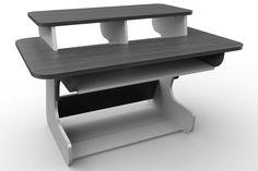 Icon Picks: 10 Best Studio Desks For Music Production Home Studio Desk, Home Desk, Music Production Equipment, 88 Key Keyboard, Modular Workstations, Sliding Shelves, Recording Studio Home, Simple Desk, Adjustable Legs