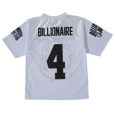 BILLIONAIRE BOYS CLUB LINEMAN FOOTBALL JERSEY 16SPRING (JP EXCLUSIVE)