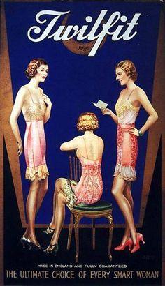 Twilfit Lingerie Three Women 1920