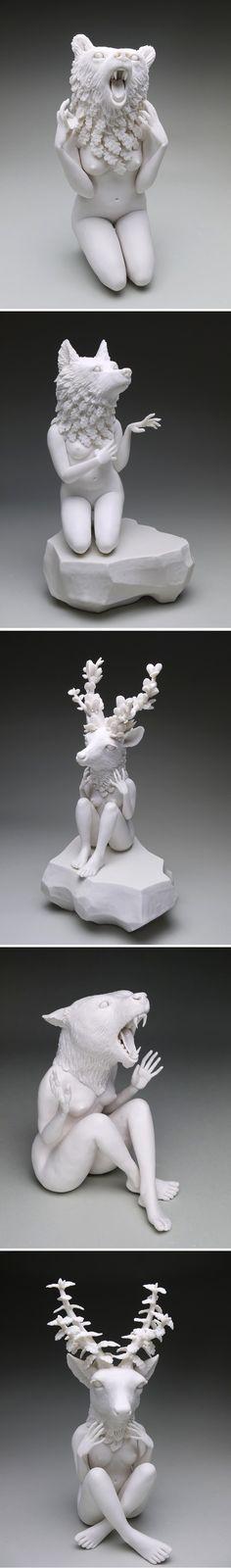 porcelain work by crystal morey