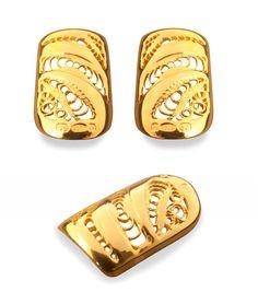 BOHEM Nails Gold Lace