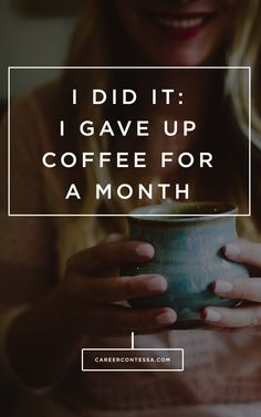 This contributor gave up coffee for 1 month before her wedding— here's what it did to her mental health.