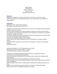 Legal Assistant Resume Objective Resume Templates Microsoft Word 2007 Resume Templates Microsoft Word .