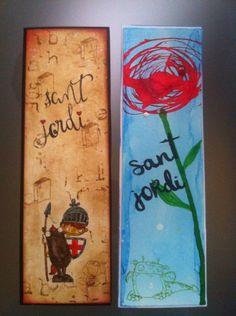 Punt de llibre. Feliç Sant Jordi!!!