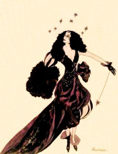 """lamarchesacasati: """" Marchesa Luisa Casati, Illustration by Alastair (Baron Hans Henning Voigt), 1914. Victor Arwas Gallery """""""