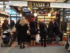 Tante T» The Tea Shop in Torvehallerne - Copenhagen (Central Train Station)