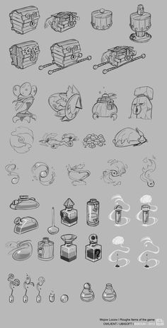 item-rough -- I need these sketches for a project. Thank you.