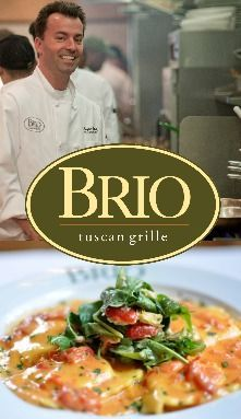 Italian Chain Restaurant Recipes: Brio Tuscan Grille...lobster ravioli