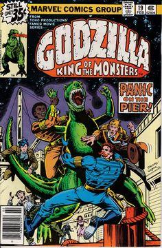 Godzilla 19 February 1979 Issue  Marvel Comics  by ViewObscura