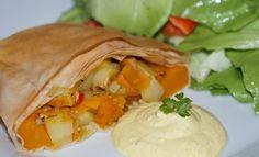 Kürbisstrudel #strudel #kürbis #pumpkin #hokkaido #easy #recipe #veggie