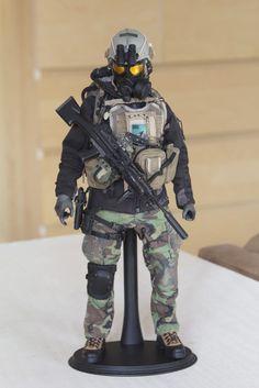 1 6 Hot Toys Soldier Story B w Custom Special Operations Unit B | eBay