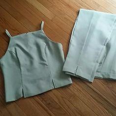 Ladies pant suit Top & pant Pants