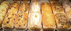 Something sweet to start your week with. Tasty pound cakes from Rustic Sourdough Bakery. #YYCEats #YYCFood