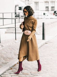 18 Fall Dresses Perfect for Wearing Under Your Coat via @WhoWhatWearUK
