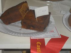 2016 Castle Hill Show - 2nd Carrot Cake