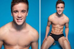 Sam Callahan in Gay Times: X Factor star strips off and flaunts his six-pack in tiny cut-out pants - 3am & Mirror Online