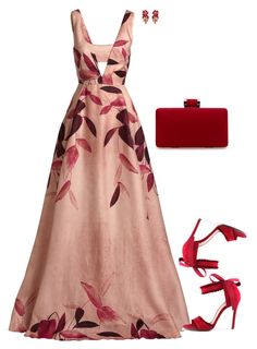 """Porthia"" by tina-pieterse ❤ liked on Polyvore featuring Lela Rose and Accessorize"