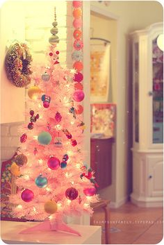 I want a pink tree