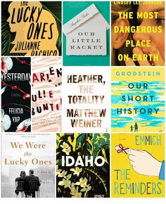 An early list of the top ten debut novels I'm looking forward to in 2017; lots of promising choices!