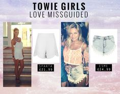 I NEED the Esme shorts! So pretty http://www.missguided.co.uk/catalog/product/view/id/77106/s/esme-daisy-lace-hotpants/ #Missguided #Fashion #Style #Trends #SS13 #Summer #Denim #Shorts #Lace #White