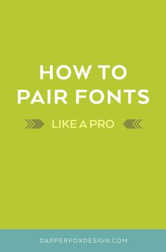 """MASTERING THE ART OF PAIRING FONTS BUT FIRST,A BRIEF HISTORY OF TYPE... If you're a designer, you might cringe when people use the term """"font"""" as an all-encompassing term. Unless you're a typographical expert, the term """"font"""" probably just means some sort of stylized lettering. Technically speaking"""