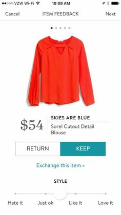 Dear Stitch Fix Styler, I am definitely looking for dressy tops like this for the colder months!