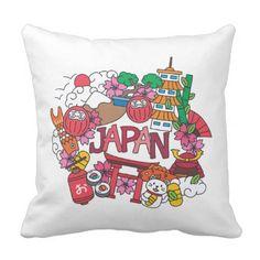 Kawaii Cute Japan! Outdoor Pillow - personalize gift idea special custom diy or cyo