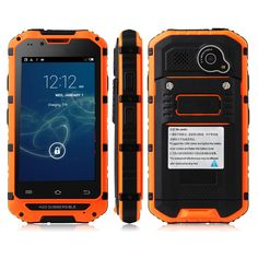 "2014 Original Discovery V6 Android Smart Outdoor Mobile Phone Waterproof MTK6572 Dual Core 512MB RAM 4GB ROM GSM $<span itemprop=""lowPrice"">114.99</span> - <span itemprop=""highPrice"">126.99</span>"