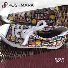 Looney tunes shoes! Great shoes! Shoes Sneakers