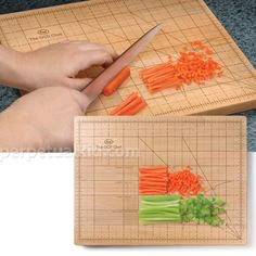 The OCD Chef Cutting Board.....I need to have this!!