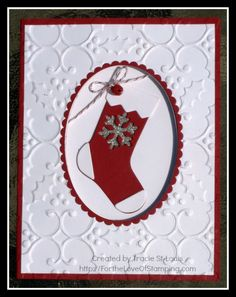 Ready for Santa to Fill My Stocking by tstlouis - Cards and Paper Crafts at Splitcoaststampers