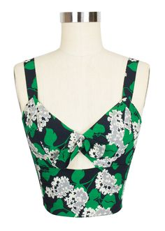 The Trashy Diva Hottie Top in Crepe Myrtle can be mix or match for several different looks!
