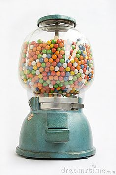 GUMBALL MACHINE FROM AN OLD STORE IN 1950....really want one of these.