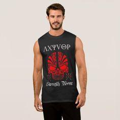 AXYVIOP- workout Sleeveless Shirt - diy cyo customize create your own #personalize