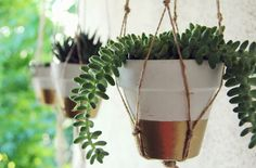 27 Creative Things to Do With a Terracotta Pot via Brit + Co